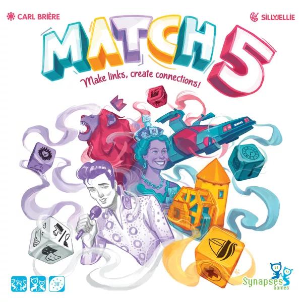 Match 5, HeidelBÄR Games, Synapses Games, 2021