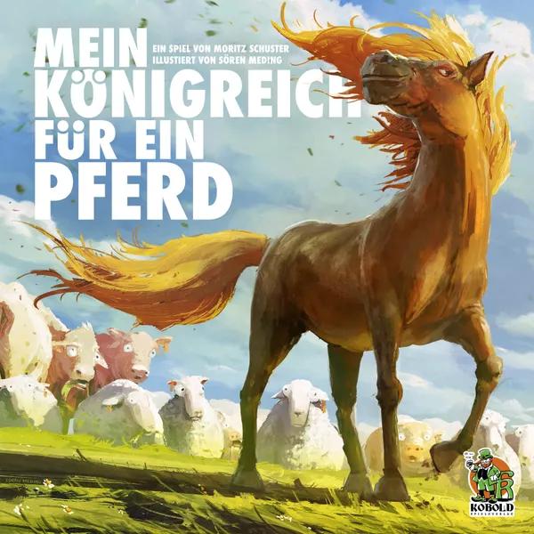Mein Königreich für ein Pferd, Kobold Spieleverlag, 2021